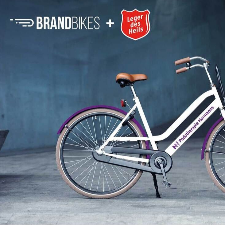 Brandbikes leasefiets Podotherapie Hermanns